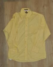 Michael Kors Long Sleeve Yellow Shirt Size Large 16 34/35