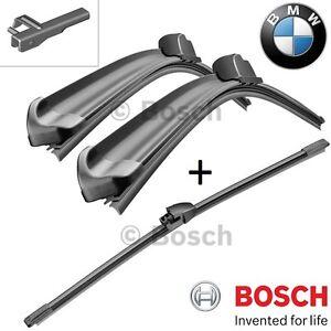 kit SPAZZOLE TERGICRISTALLI BOSCH ANTER + POSTER. BMW X3 (F25) da 09.2010 a oggi