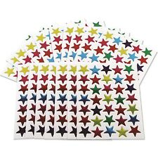 700 Reward Stickers Stars Coloured Teacher Merit award