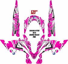 YAMAHA NYTRO SNOWMOBILE WRAP DECAL STICKERS 05-16 GRUNGE basic with tunnels