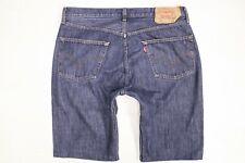 Levi's 501 blue denim shorts W38