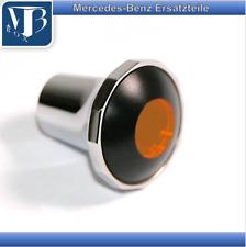 Mercedes-Benz W121 190SL & Pontoon Chrome Button Heater Blower Orange