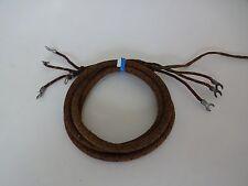 Antique original Automatic Electric telephone Rattlesnake handset cord