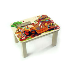 Hess 30287 Footrest Baustelle for kids wood Ore Mountains new! #