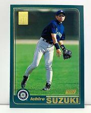 2001 TOPPS : ICHIRO SUZUKI ROOKIE CARD NM