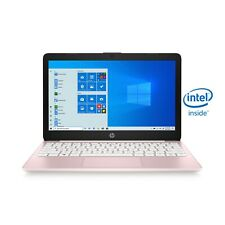 HP Stream 11.6 inch Intel N4020 1.1GHz 4GB 64GB Notebook/Laptop Rose Pink NEW