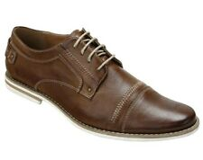 Day Five Swank tan men's shoes size 11 dress/casual brown lace-up