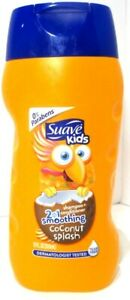 Suave Kids 2-in-1 Shampoo Conditioner Smoothers, Coconut Splash, 12 oz. (2 Pack)