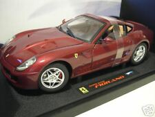 FERRARI 599 GTB FIORANO bdx ELITE 1/18 HOT WHEELS MATTEL M1200 voiture miniature