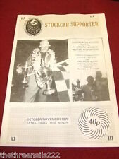 STOCKCAR SUPPORTER - F1 & F2 BRISCA WORLD CHAMPIONS - OCT 1979 # 117 VOL 13