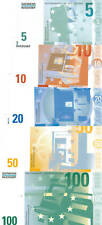 5-100 Euro Siemens-Nixdorf (Euro-Testnoten)