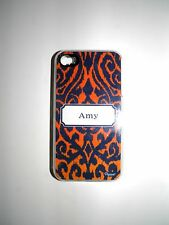 """PERSONALIZED NAME COVER FOR IPHONE 4/4S WITH 2 LAYERS OF PROTECTION """"AMY"""" NEW"""