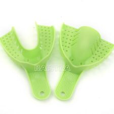 TOP 2X Ortho Dental Green Autoclavable Impression Trays Dental Central 10pcs/box