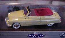 1949 Mercury Convertible Calabash Yellow 1:24 Classic Metal Works 10113