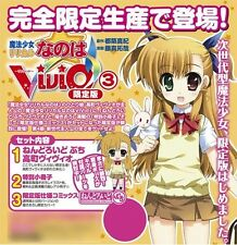VIVID 3 LYRICAL NANOHA LIMITED EDITION W/ VIVIO NENDOROID
