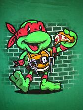 Teenage Mutant Ninja Turtles Vintage Raph T-Shirt TEEFURY TMNT Raphael Comic dvd