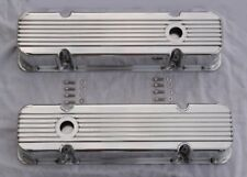 1959-79 Pontiac 350 389 400 421 455 Polished Aluminum TALL Finned Valve Covers