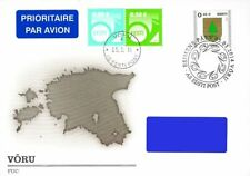 Estonia 2014 (05) Definitive - Coat of arms Võru (fdc)