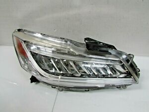 2016 2017 HONDA ACCORD TOURING SEDAN OEM RIGHT LED HEADLIGHT DRL ISSUE E1
