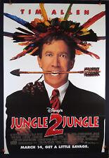 Disney's Jungle 2 Jungle 1997 Original Movie Poster 27x40 Folded, Double-Sided