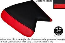 Rojo y Negro se ajusta Cagiva Mito personalizado de vinilo automotriz 125 90-94 Cubierta de asiento delantero