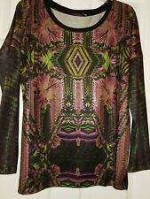 NWT Custo Barcelona Multivolor Sweter/Top Size 10-12