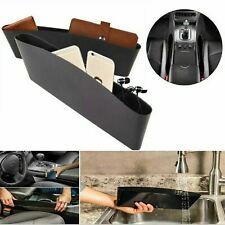 Car Seat Gap Organiser 2PK Pocket Holder Storage Case Catch Buddies Fit All Cars