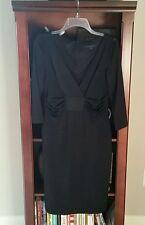 DAVID MEISTER Black Bodycon Dress-6