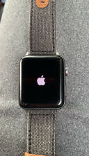 Apple Watch Series 2 42mm Space Gray Aluminum Case GPS Black Sport Band(Locked)!