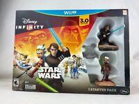 Disney Infinity (3.0 Edition) Wii U Star Wars Starter Pack New