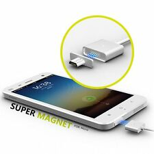 Micro USB Magnetic Adapter Charger Cable for Samsung Galaxy LG HTC