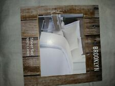 New Brooklyn Loom 300 Thread Count 4 Piece Sheet Set Cotton White Size King