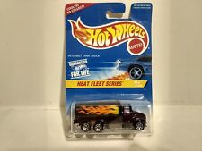 Hot Wheels Heat Fleet Serie Peterbilt Tank Truck Mattel 1:64 Scale Diecast mb714