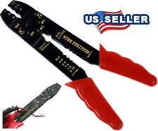 8 INCH CRIMPING TOOL WIRE STRIPPER CUTTER CABLES TOOL HAND BOLT CUTTER