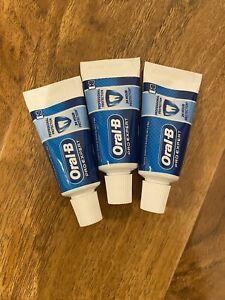 Oral B Toothpaste 15ml X3 Travel Size Tubes