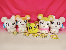Very Cute ♪ Tottoko Hamutaro Ham chan's 5 Stuffed Toy Plush Doll Japan Free New
