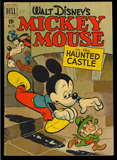 Four Color #325 (Mickey Mouse) Nice Golden Age Walt Disney Dell Comic 1951 VG