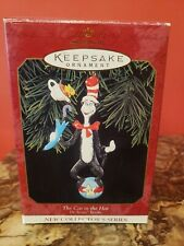 Cat in the Hat Ornament *Dr. Seuss New Collector's Series 1999 Hallmark Keepsake