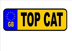 Novelty Number Plate, Personalsed Number Plates, Fun Number Plates