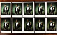 KEN GRIFFEY, JR ~ 10 CARD LOT ~ CARD GUARD PROMO CARDS ~  HOF lN BLACK TUXEDO
