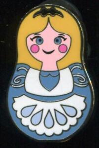 Nesting Dolls Mini Mystery Pin Pack Alice in Wonderland Disney Pin 101920