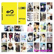 30pics set INFINITE LOMOCARDS Kpop goods New