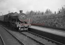 PHOTO  GWR 7918 ROSE WOOD HALL ON AN EXPRESS APPROACHES ABERGAVENNY JCT RAILWAY