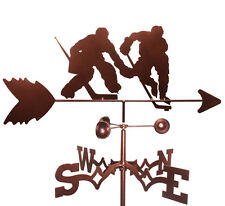 Hockey Player Weathervane With Roof Mounting