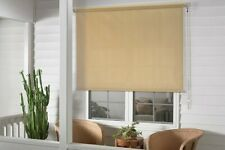 Cordless Window Roller Shade Blind Roll Up Exterior Sun Patio Outdoor Deck 4ft