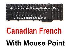 Dell Latitude E5520 E5530 E6520 E6530 Keyboard -  CF Canadian French 02G267