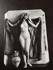 J.Edwards Rare Orientalist nude tintype C963RP