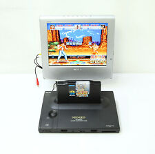 Neo Geo Aes Snk Game Console Neo-0 Pro Pow3 Black Working