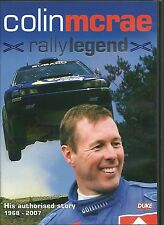 COLIN McRAE RALLY LEGEND HIS AUTHORISED STORY 1968 - 2007 DVD