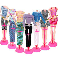 1 PCS Handmade fashion outfit short dress doll accessories clothes for doll t fi